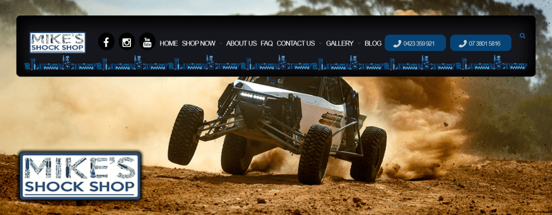 Website Developed For Mikes Shocks With High Quality SEO